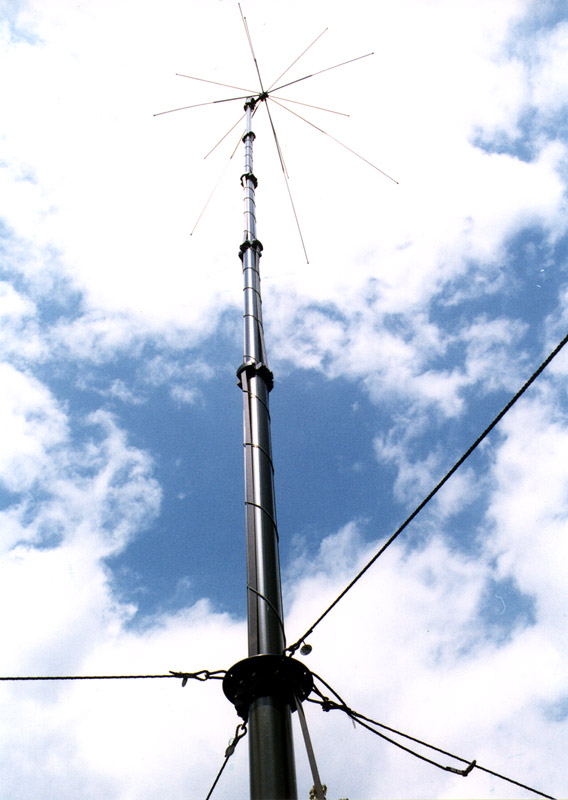 STV Winch driven telescopic masts