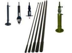 AD-4: 1,5 MHz - 30 MHz HF military antennas, vehicular antennas bases AP-4
