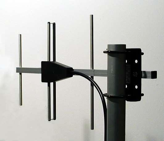 Base Station Military UHF Antennas - Stationary Antennas AD-40/07-3-T: 3-element YAGI antennas, 380 MHz - 420 MHz