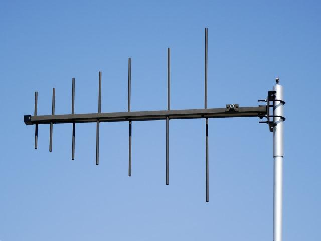 Log - periodic UHF military - 225 - 512 MHz - Tactical Antennas - Ground / Base Station Antennas - Military Jammers - Signal Jamming Antennas AD-22/B rear details