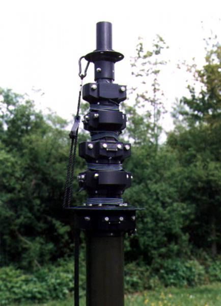 STV Winch Driven Telescopic Antenna Mast parts 1