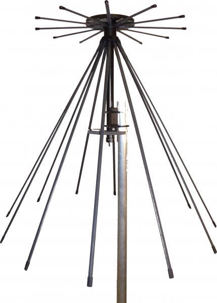 Unpacking Tactical Antenna AD-17/C-1512-F - Military Jammer - Signal Jamming Antenna - White Background