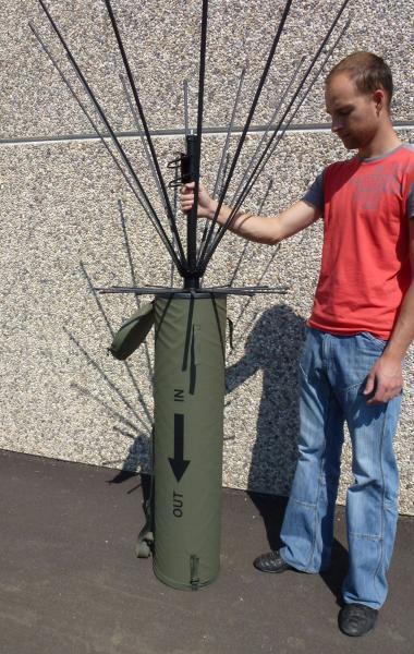 Tactical Antenna AD-17/C-1512-F - Military Jammer - Signal Jamming Antenna