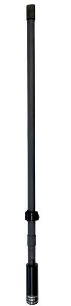 AD-44/CW-TA-30-512: 30 MHz - 512 MHz low band & high band VHF / UHF antenna, short tape handheld & manpack antenna for SDR radios