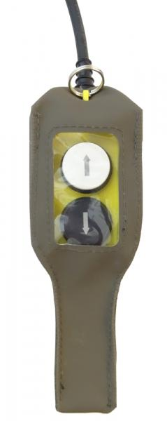 Remote control (pendant) for electric winch