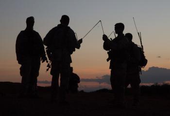 Professional Handheld and Manpack Antennas - Military Antennas - Trival Antene