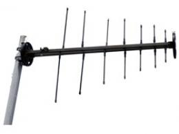 Log-periodic, UHF VHF military antenna,  225 MHz - 512 MHz, Tactical Antenna,  AD-22/B-F