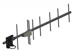 UHF Base Station Antennas AD-40/07-7T: 7-element YAGI antennas, 380 MHz - 420 MHz