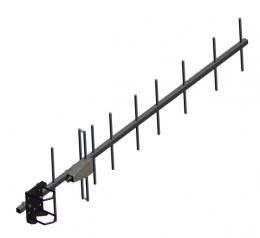 9-element, 380 MHz - 420 MHz, Yagi, UHF Base Station Antennas AD-40/07-9T