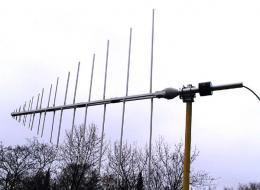 Log -  periodic, Military VHF - UHF - 80 MHz- 1300 MHz Antenna AD-22/C