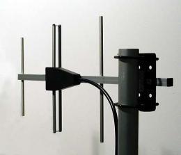 Base Station Military UHF Antennas - Stationary Antennas AD-40/07-3-T: 3-element YAGI antennas, 380 MHz - 420 MHz