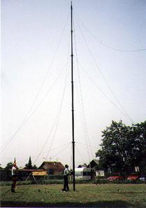 STV Winch Driven Telescoping Antenna Mast