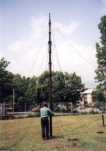 STV Winch Driven Telescopic Antenna Mast