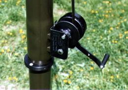 STV Winch Driven Telescopic Antenna Mast - Manual Winch