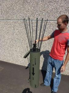 Packing Tactical Antenna AD-17/C-1512-F - Military Jammer - Signal Jamming Antenna