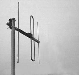 Base Station Antenna AD-40/4-3 on mast