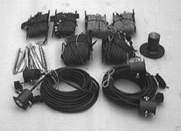1,5 MHz - 30 MHz wideband HF transceiving wire tactical antenna KUA-35/5 parts 1