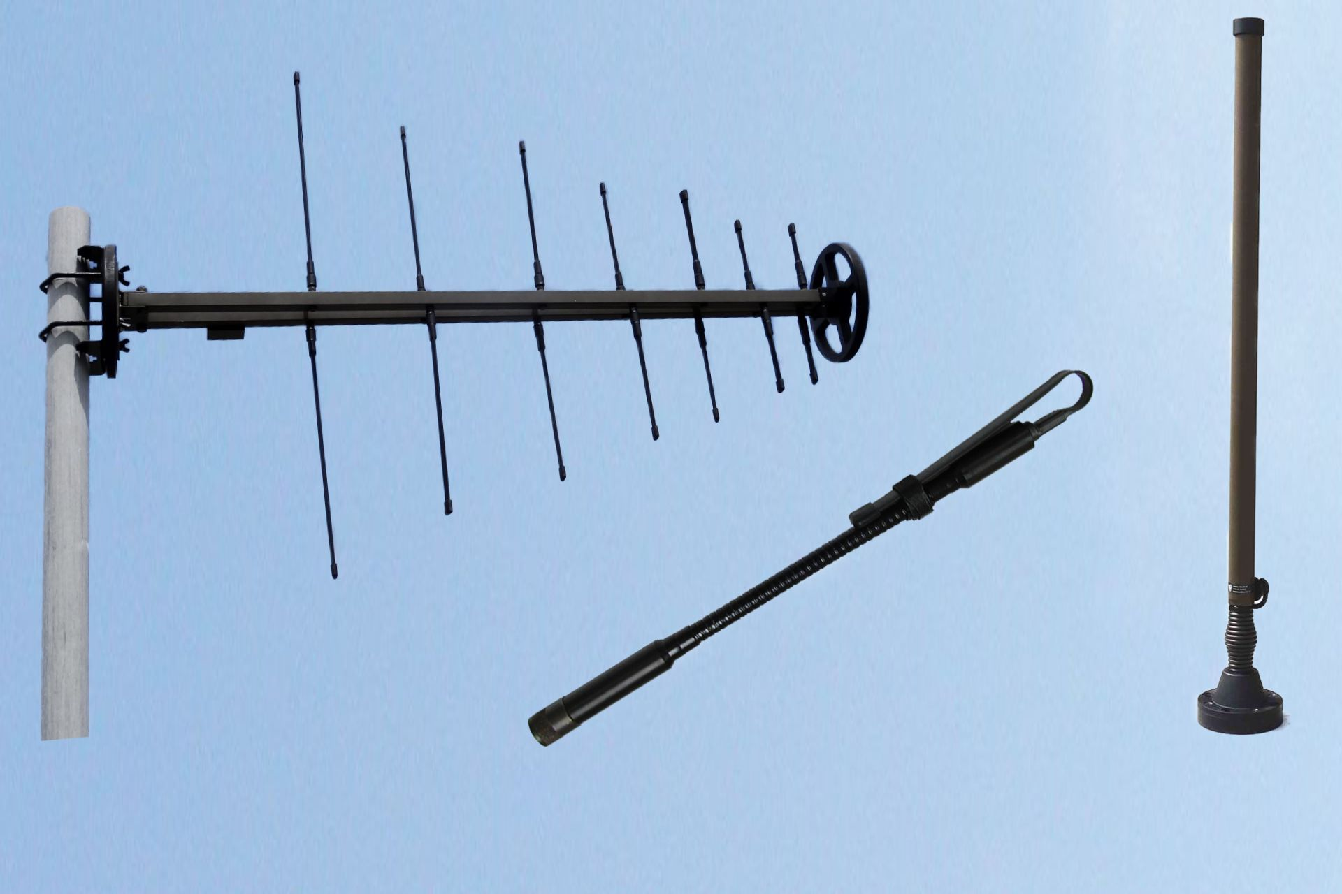 UHF ANTENNAS 225 - 512 MHz